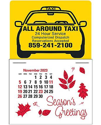Taxi Stick Calendar