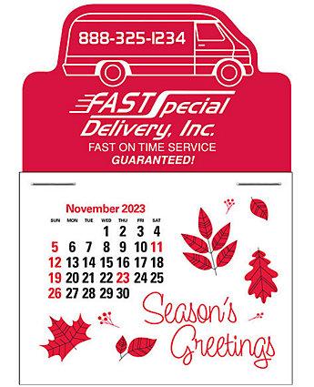 Van Press-N-Stick Calendar