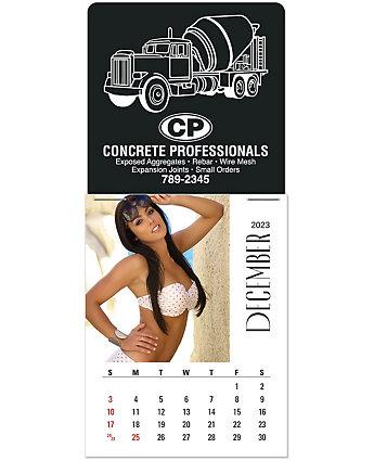 Swimsuit Picture Stick Calendar