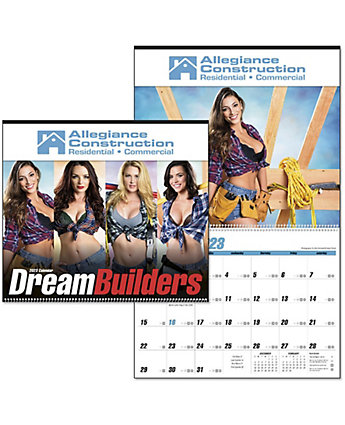 Dream Builders Wall Calendar