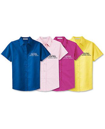 Short Sleeve Shirt-Womens