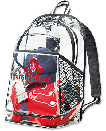 Clear Pvc Backpack, Event Access
