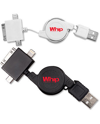 USB Adapter - 3 In 1 Retractable