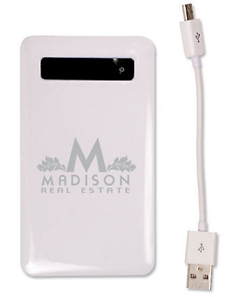 Ultra-Slim Mobile Battery Charger