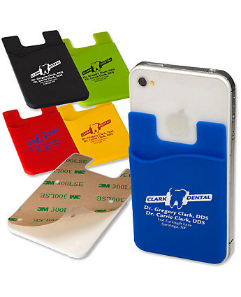 Silicone Pocket For Mobile Phone