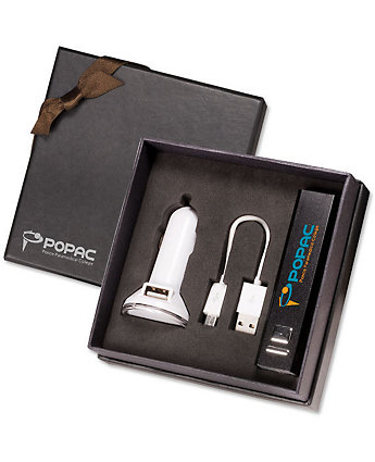 Chargers Tech Gift Set