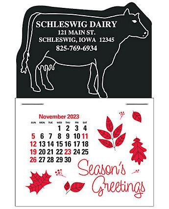 Cow Value Stick Calendar