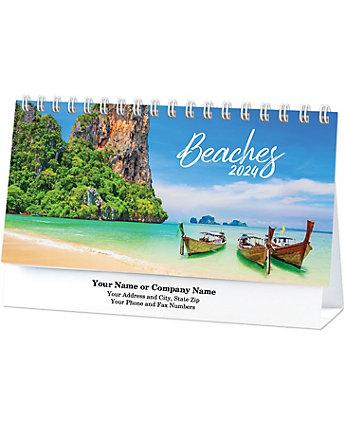 Beaches Desk Calendar