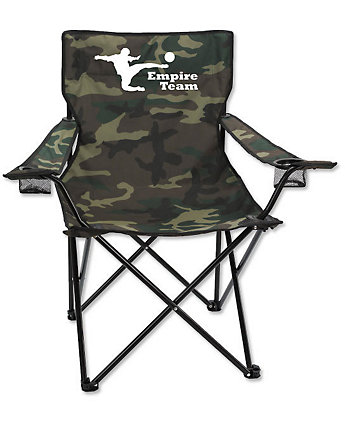 Camo Chair With Carrying Bag