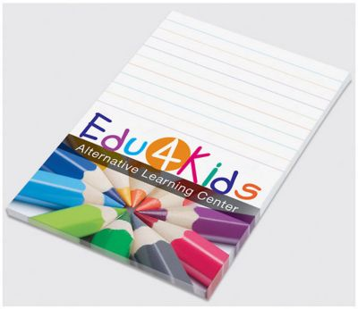 post it notes with logo