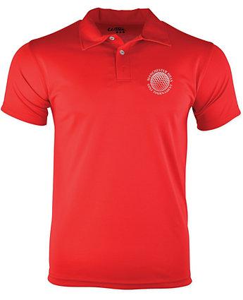 Custom performance polo shirt from amsterdam printing for Screen printing polo shirts