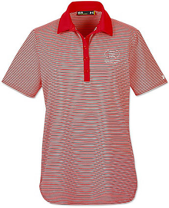 Under armour ladies embroidered clubhouse polo shirts for Under armour embroidered polo shirts