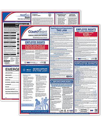 Georgia State/Fed Poster Kit