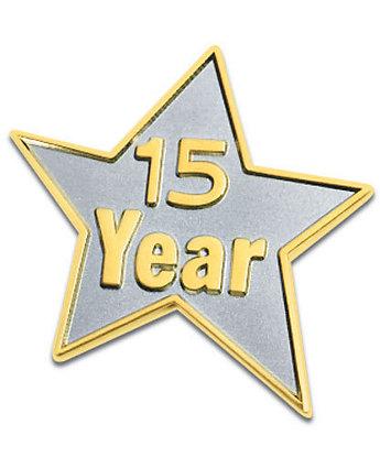 15 Year Star Lapel Pin
