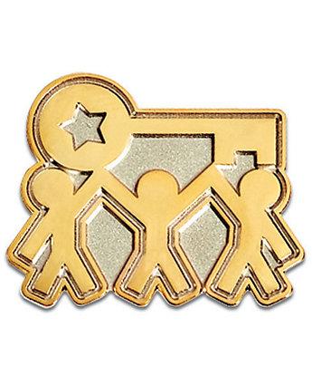 Team Key Lapel Pin