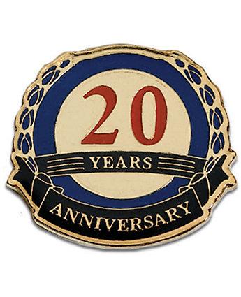 20  Years Anniversary Lapel Pin