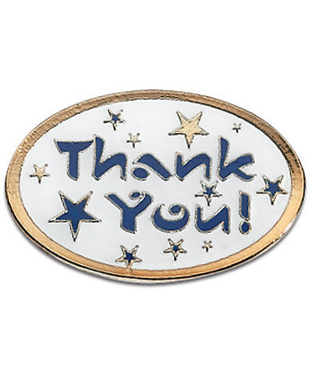 Thank You! Lapel Pin