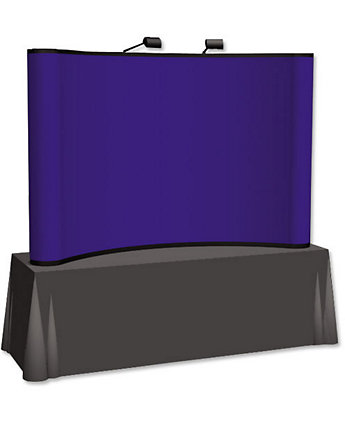 Show 'N' Rise, 8 Ft. Curved Table T