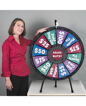 """31"""" Tabletop Prize Wheel"""