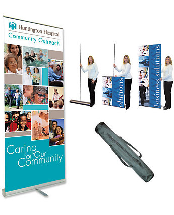 Economy Retracting Banner Stand