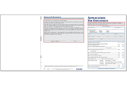 Job Application Forms And Hiring Application Forms