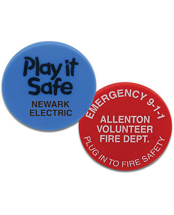 safety plug covers with logo