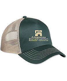 04170ad819bf24 5 Panel Heat Transfer Mesh Back Price Buster Cap