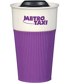Ceramic Travel Mug With Wrap 13 Oz